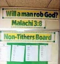 Non-tithers-board