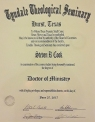 Steven R. Cook Doctor of Ministry
