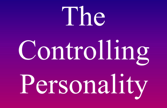 Characteristics of controlling people