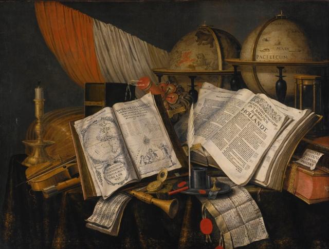 Edwaert Collier Vanitas Still Life - ca. 1642–1708