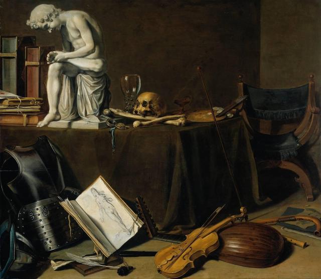 Pieter Claesz - Vanitas Still Life ca.1628