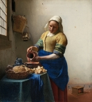 The Milkmaid - Jan Vermeer (c. 1658)